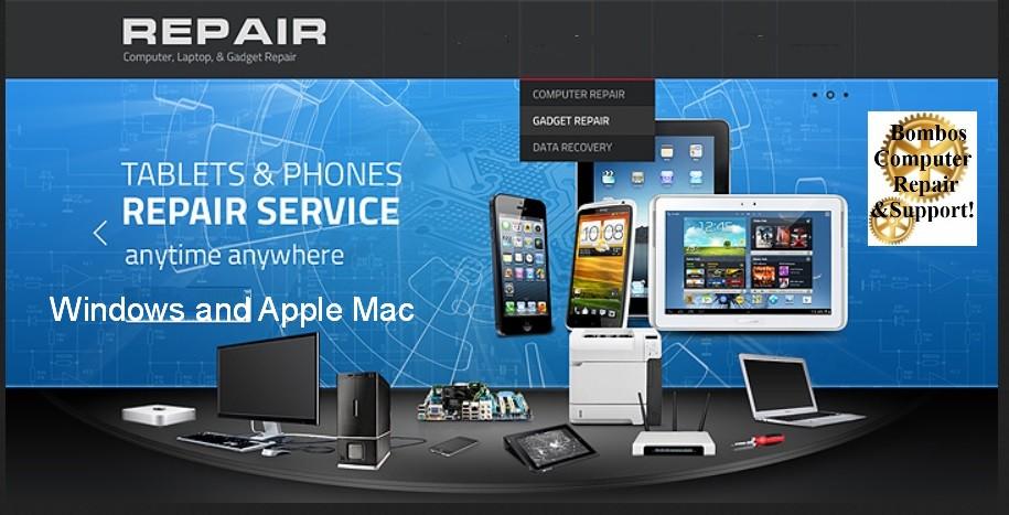 Computer repair, Virus removal, Apple, Mac repairs, iPhones, water